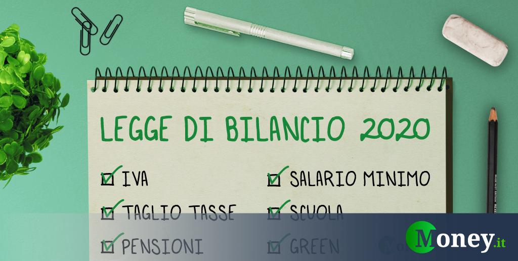 Legge Di Bilancio 2020 Cosa Prevede Il Testo Definitivo In Punti