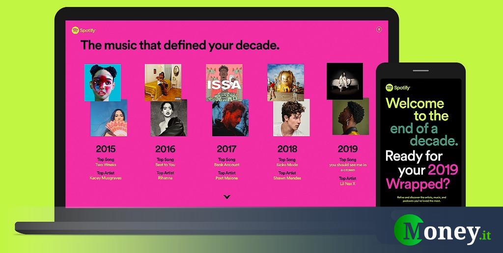 Spotify: come vedere la musica e le canzoni più ascoltate nel 2019