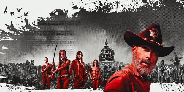 The Walking Dead 9 streaming online con e senza Sky