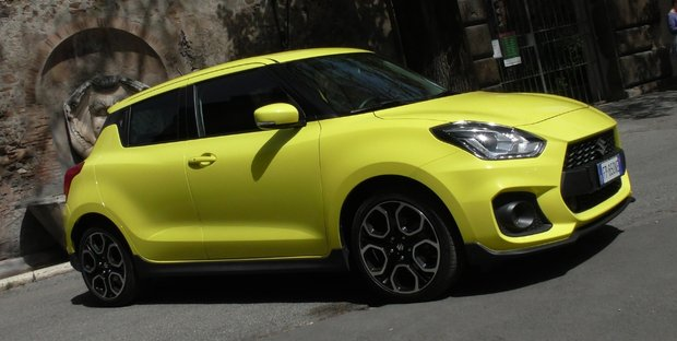 Suzuki Swift Sport: la prova