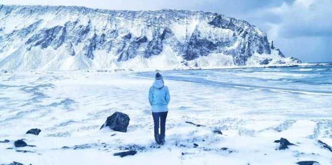 Covid: un'italiana ha passato il lockdown al circolo polare artico