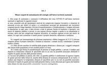Nuovo DPCM 26aprile: testo del decreto, novità, cosa prevede