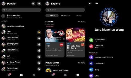 Messenger Dark Mode: come attivare la modalità scura