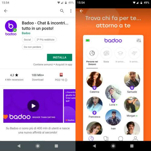 Badoo: come chattare sul sito d'incontri