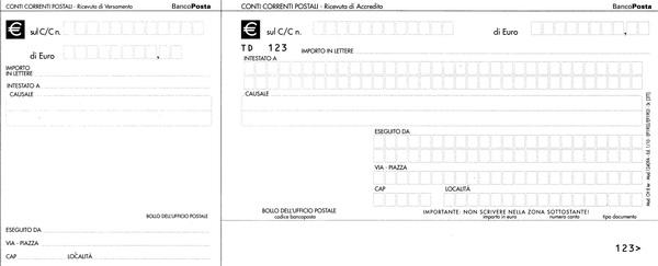 Come compilare un bollettino postale senza errori for Bollettino precompilato