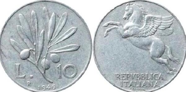 adc3b28702 Quella da 10 lire è la moneta antica in lira italiana con il valore più  alto, che può arrivare a superare anche i 6.000 euro se in ...