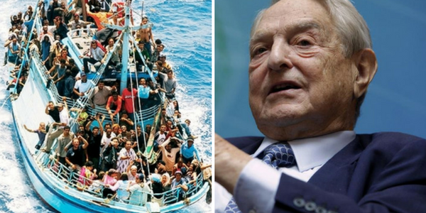 Perché George Soros finanzia l'arrivo degli immigrati in Italia