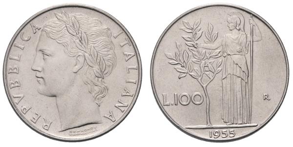 61d4548f97 Le 100 lire del 1955 sono abbastanza diffuse (ne sono stati creati 8,6  milioni di esemplari) ma, nonostante questo, possono valere una piccola  fortuna se ...