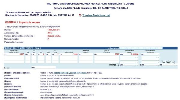 Codice tributo 3918 imu guida al pagamento con modello f24 for Pagamento imu