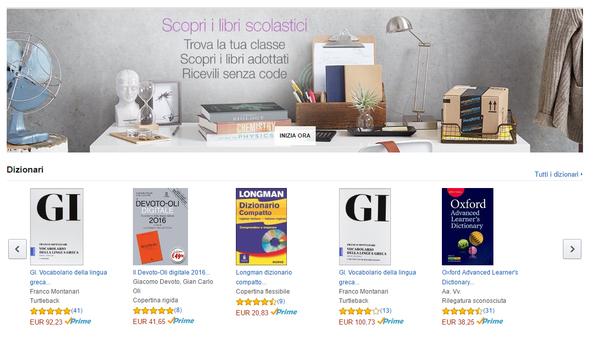 Buoni sconto amazon libri scolastici for Codice promozionale amazon libri scolastici
