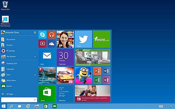 Rivoluzione Windows 10 Sara L Ultimo Os Di Microsoft