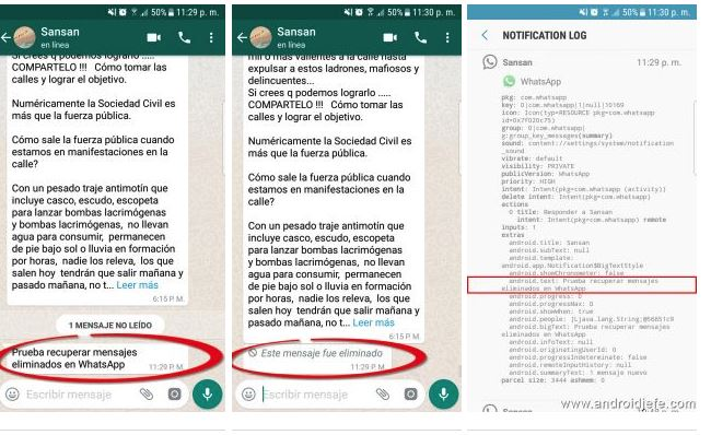 Come recuperare le chat cancellate da WhatsApp su Android