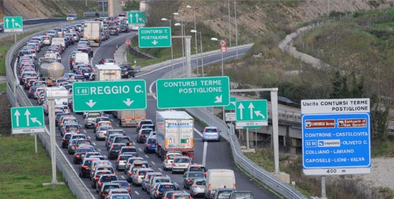 Previsioni traffico, Pasqua 2019: le autostrade da bollino rosso