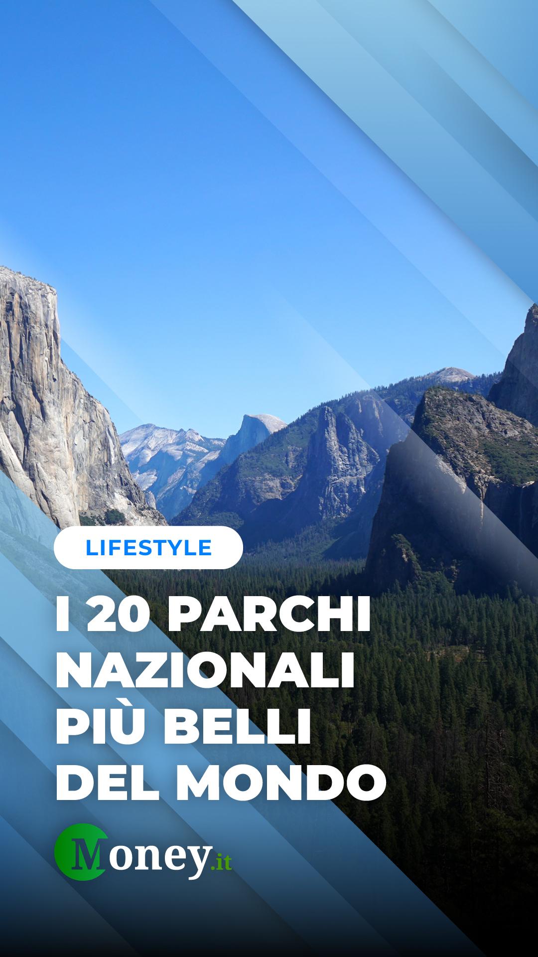 I 20 parchi nazionali più belli del mondo