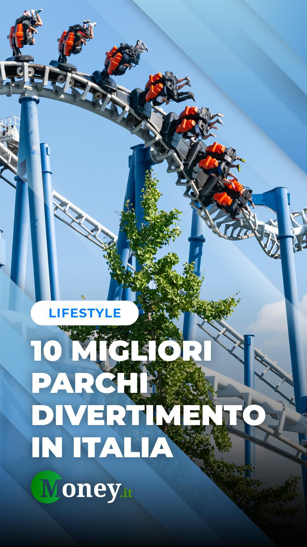 Parchi divertimento: ecco i migliori in Italia